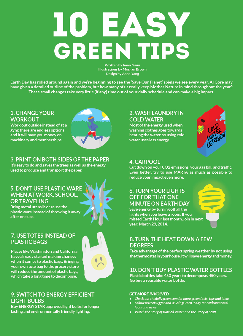 what to do to save the environment