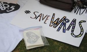 #SaveWRAS poster