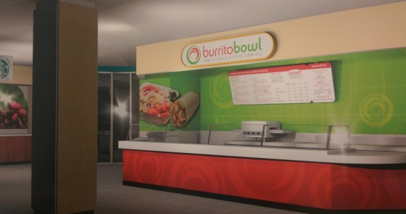 Concept art of Burrito Bowl.   Photo courtesy | Boyd Beckwith